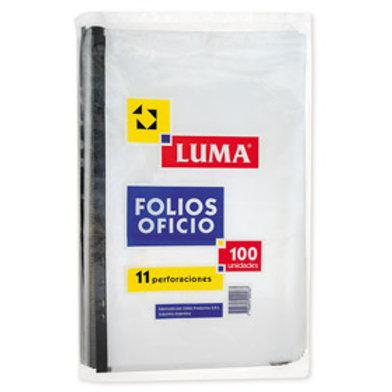 FOLIOS OFICIO X 100 UNIDADES
