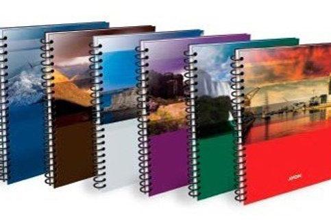 Cuaderno avon tapa blanda A4 cuadriculado