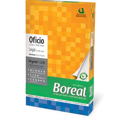 BOREAL 22x34  DE 70 GR BLANCA