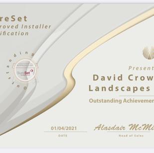 Sureset certificate