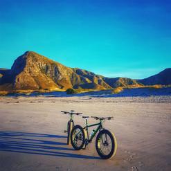 Fat Bike rides in Hermanus, explore South African beaches