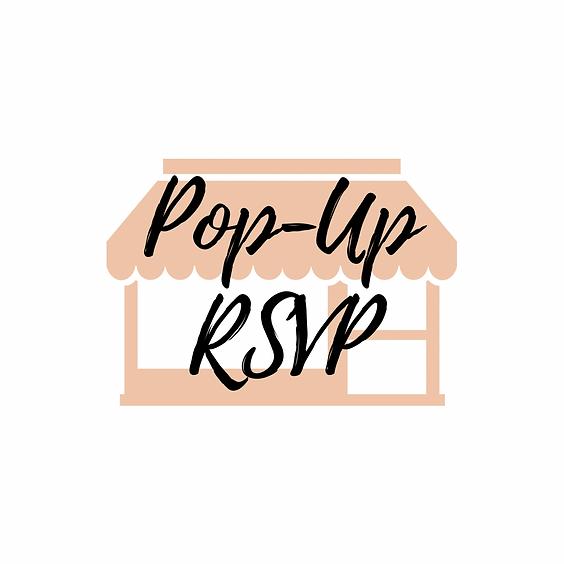 April Pop-Up Info RSVP!