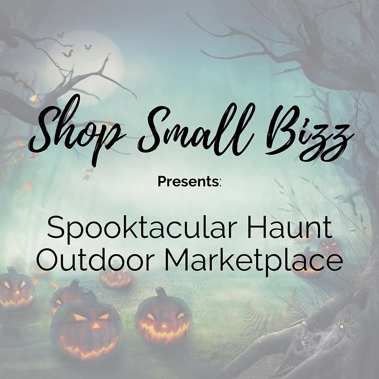 Spooktacular Haunt Outdoor Marketplace!