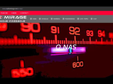 Premiera w RADIO MIRAGE. W blogu ciekawostka o realizacji nagrania.