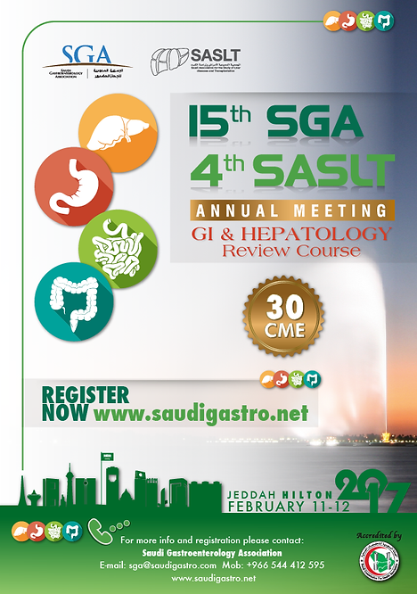 15th SGA & 4th SASLT Annual Meeting