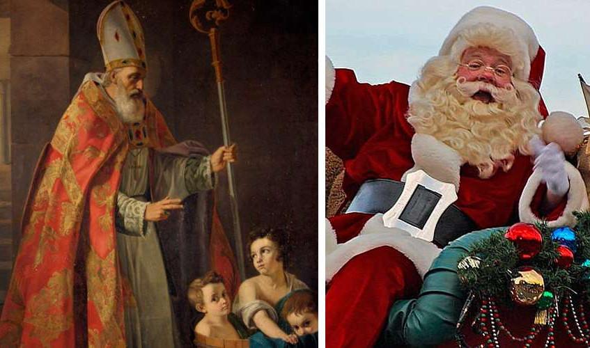 San Nicolás versus santa Claus