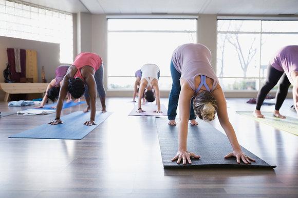 Live-Stream Yoga Class