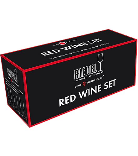 RIEDEL BIG O RED WINE SET