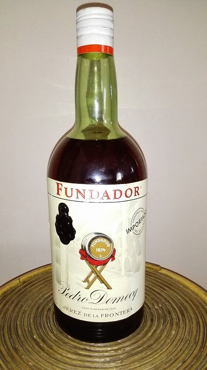 PEDRO DOMEC BRANDY FUNDADOR 1972
