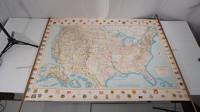 American Railroads Map