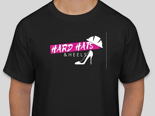Hard Hats & Heels, Black T-Shirt