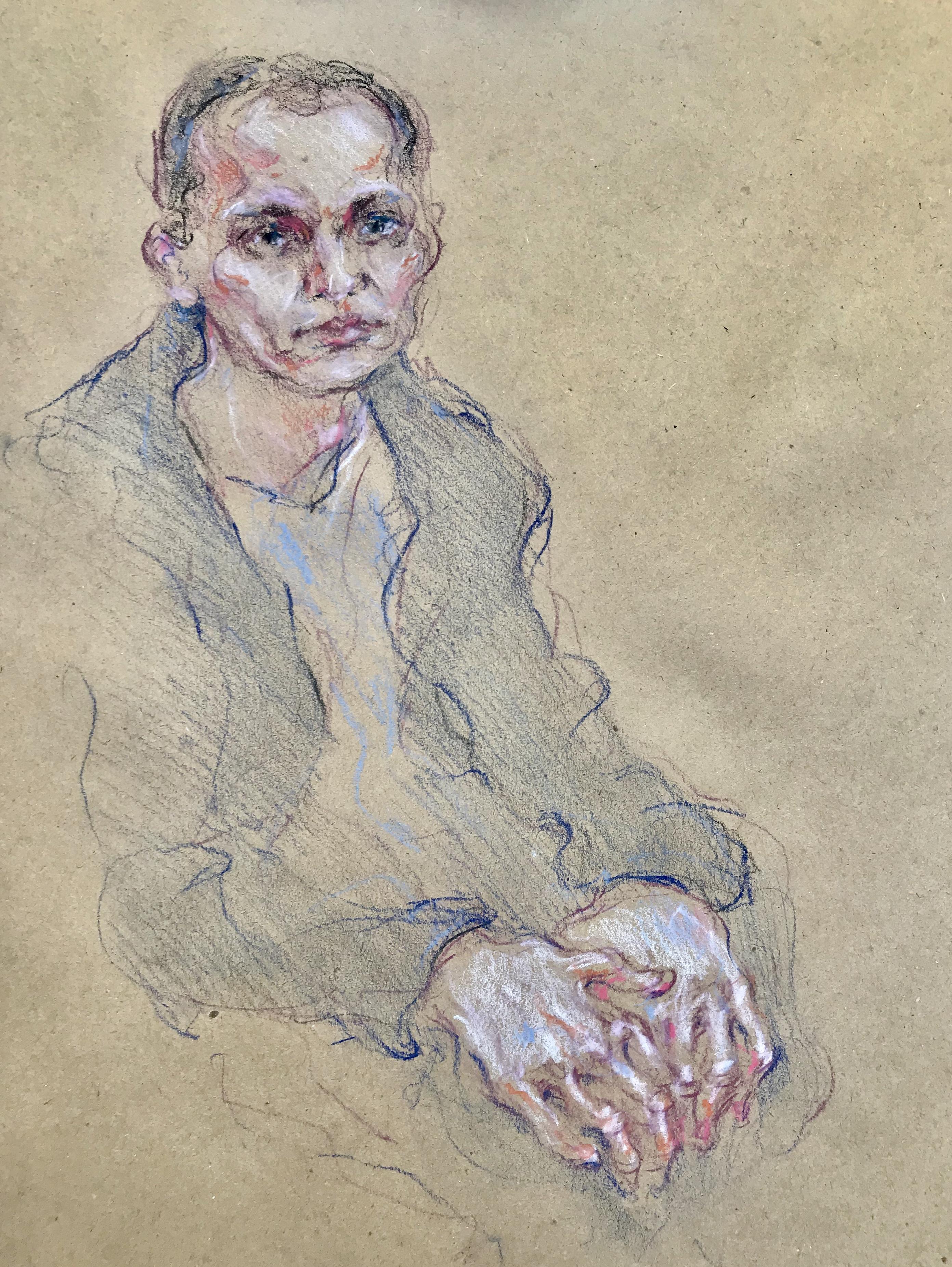 Портрет с руками