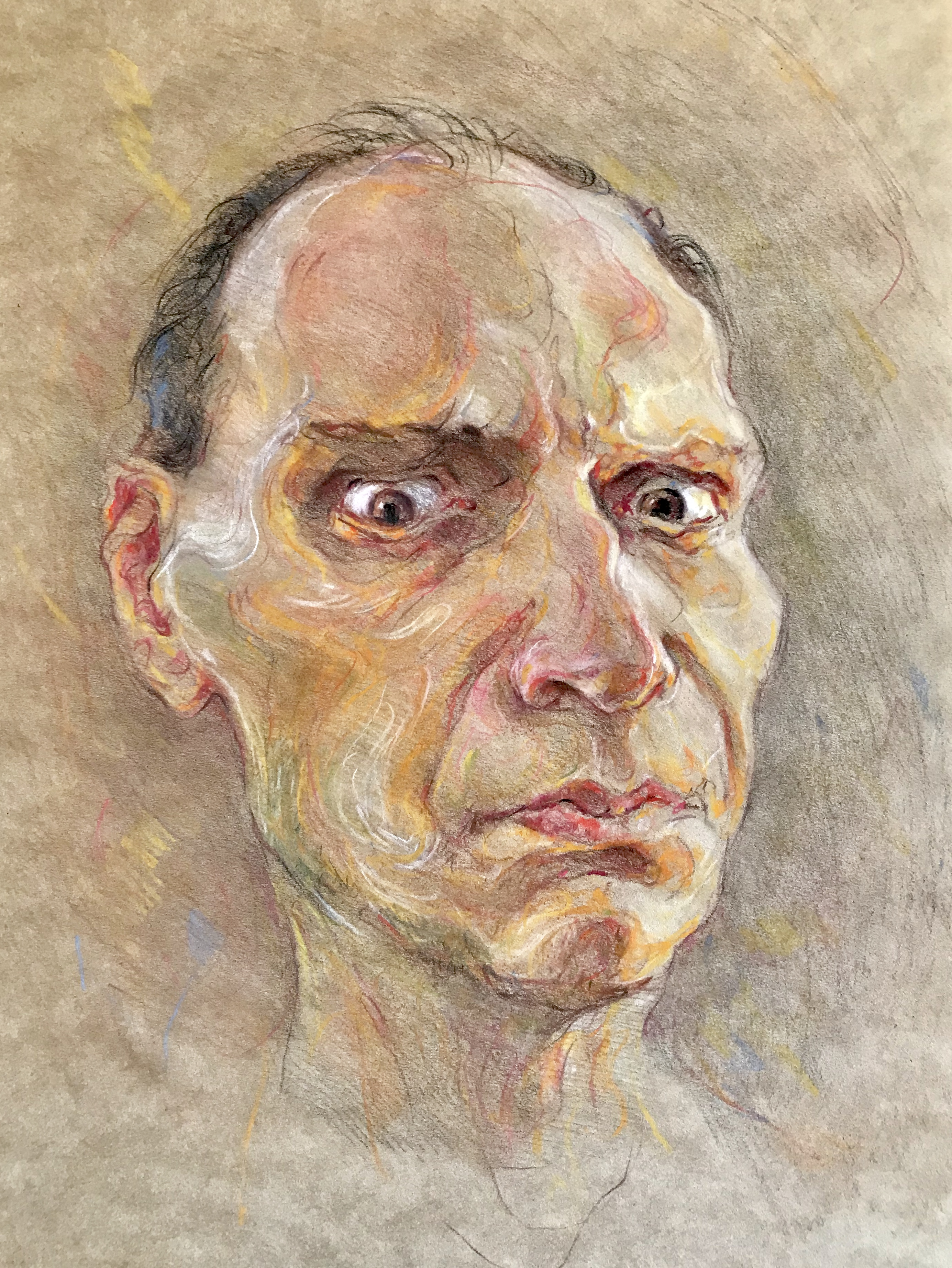 Portrait of unknown person