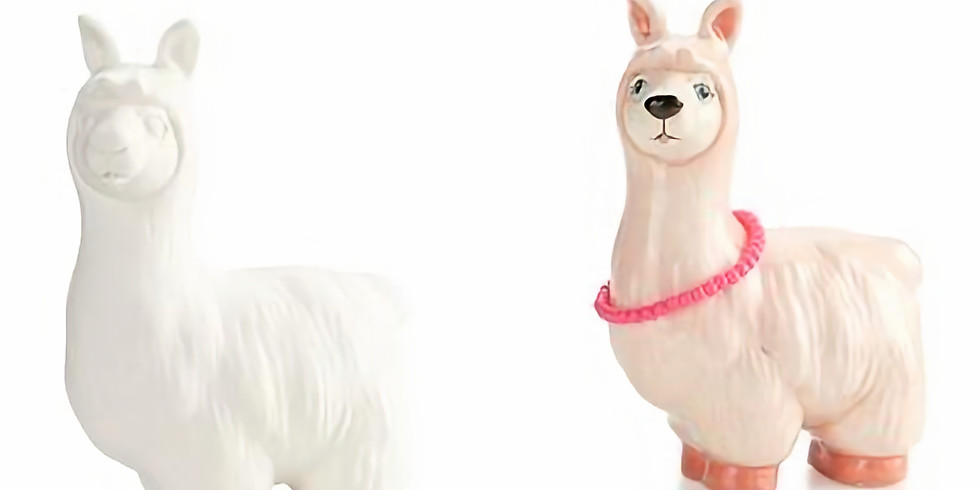 How to charm a llama storytelling and painting pottery