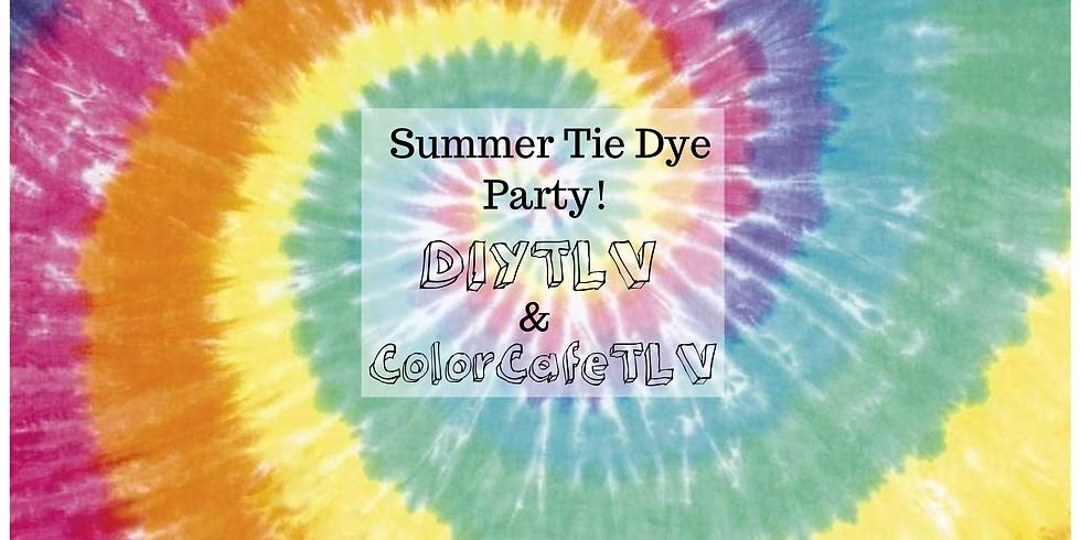 Summer Family Tie-Dye Party at Park Hayarkon!