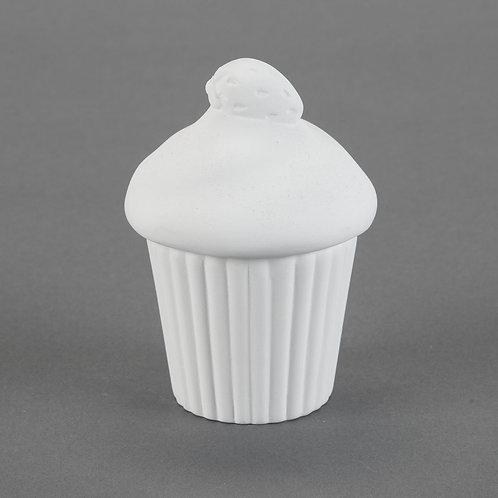 Cupcake W/ Strawberry
