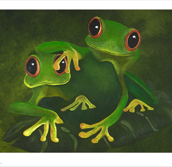 Frogs in the Jungle