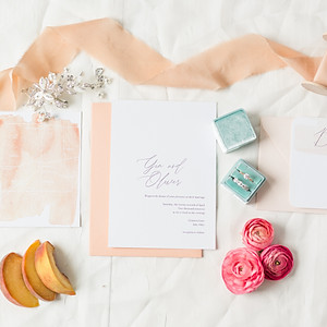 Southern Peach Styled Shoot