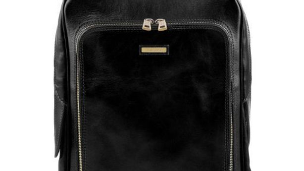 TL141793 Bangkok - Leather laptop backpack