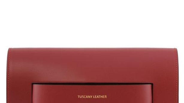 SOPHIA TL141816 Leather Clutch Handbag