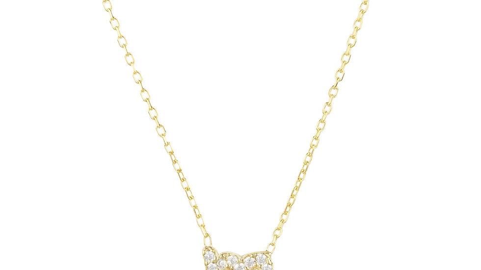 Zodiac Star Sign Pendant Necklace Gold Scorpio