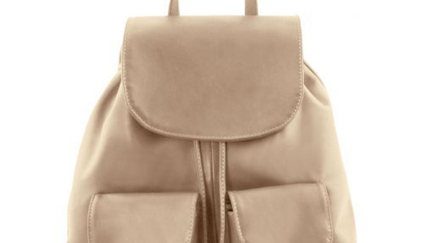 TL141508 Seoul - Leather backpack Small size