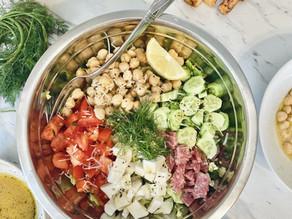 Italian Chopped Salad- A salad you will actually enjoy.