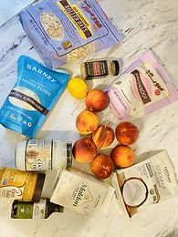 Healthified Peach Crisp