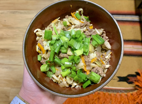 Everyone's Favorite: Egg Roll In a Bowl