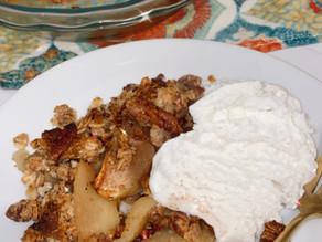 Your favorite fall dessert: Apple Crisp (Paleo, GF, Vegan)
