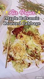 Sweet or Savory Crispy Roasted Cabbage Steaks