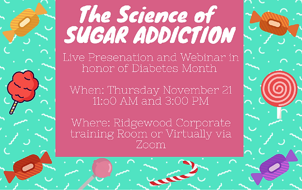 The Science of Sugar Addiction