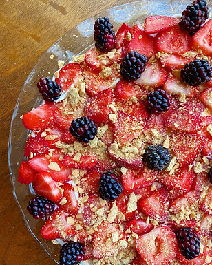 Fluffy Strawberry Cheesecake Recipe