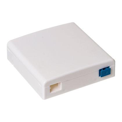 Caixa para terminal de passagem de fibra óptica