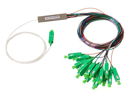 Splitters PLC 1X16 SM com conector SC/APC