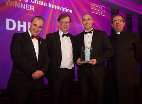 Winner of the Supply Chain Innovation 2018 Award from CILT