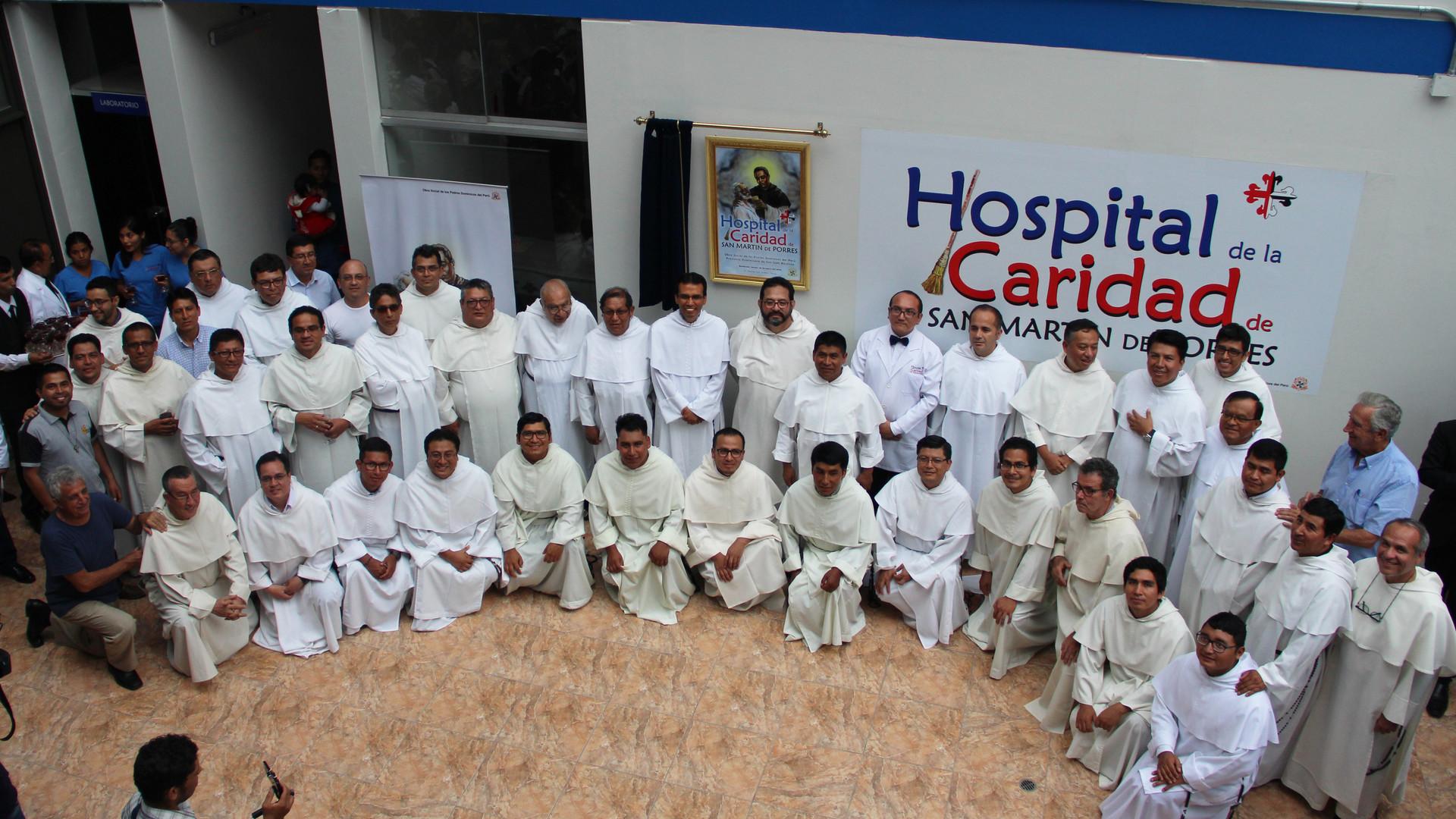 Bendición del Hospital de la Caridad