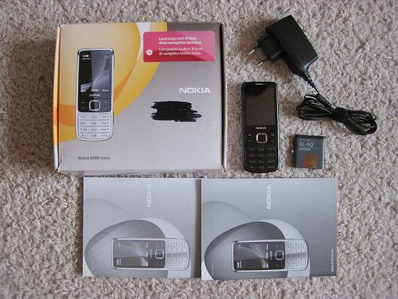 Nokia 6700 black