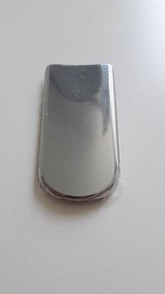 Nokia 8800 Sirocco silver battery cover