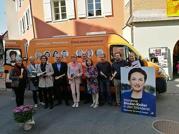 CVP Aargau Risottobus