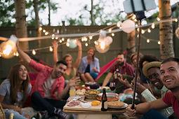 Freunde-Party