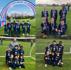 U6 @Explorers Tournament March 2019