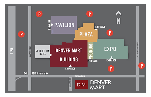 Denver Mart Parking Instructions
