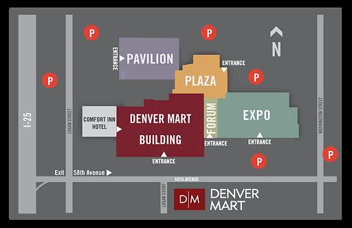 Denver Mart Parking Instructions