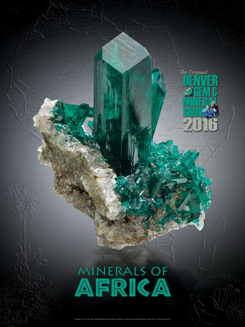 DGMS - Minerals of Africa