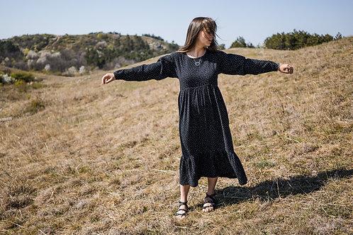 Duplagéz maxi long sleeve dress