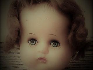 Doll-head Purse