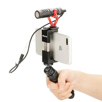 Lightweight Mini Phone Tripod w/ Detachable Handle