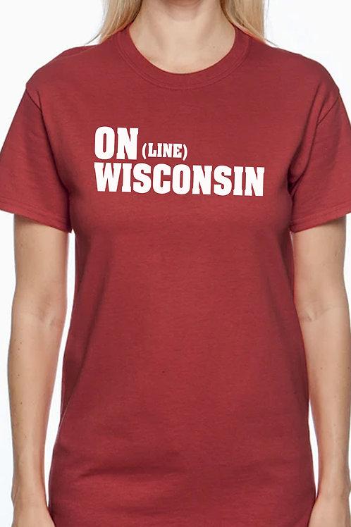 ON (Line) WISCONSIN Unisex T-Shirt
