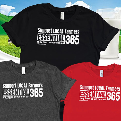 SUPPORT ALL LOCAL FARMERS Unisex T-Shirt